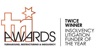 Manolete wins inaugural TRI award 'Insolvency Litigation Funder of the Year'